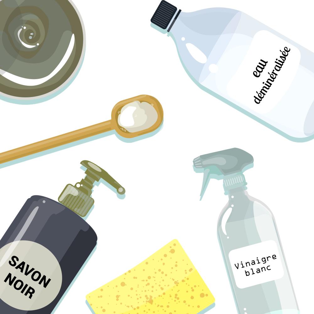 comment fabriquer ses produits m nagers naturels avec les huiles essentielles. Black Bedroom Furniture Sets. Home Design Ideas